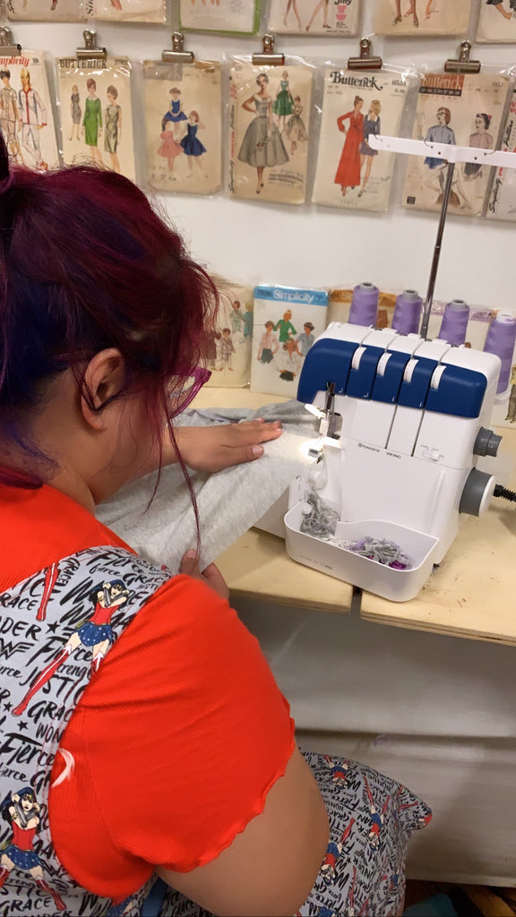 Serging 101 Virtually or In Person