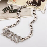 Big Boss Pendant Necklace