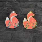 Woodland Fox Enamel Pin