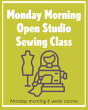 Monday Morning Open Studio Virtually or In Person