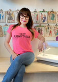Sew Anastasia Embroidered Pink T-shirt