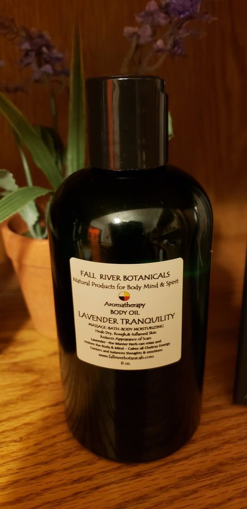 Massage Oil Lavender Tranquility