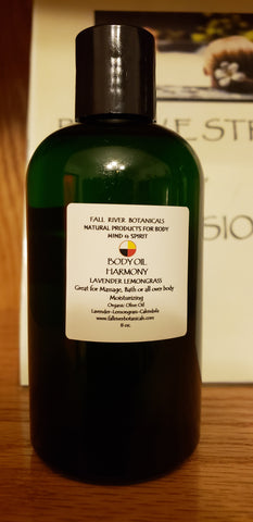 Harmony Lemongrass Lavender Body Oil