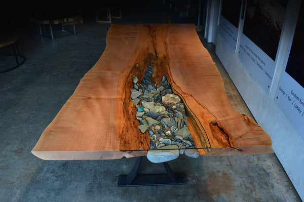 SOLD Ancient Live Edge Dining Table – Live Edge Design Inc.