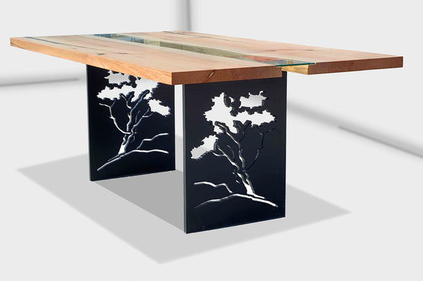 River Run table with 'Tree' base