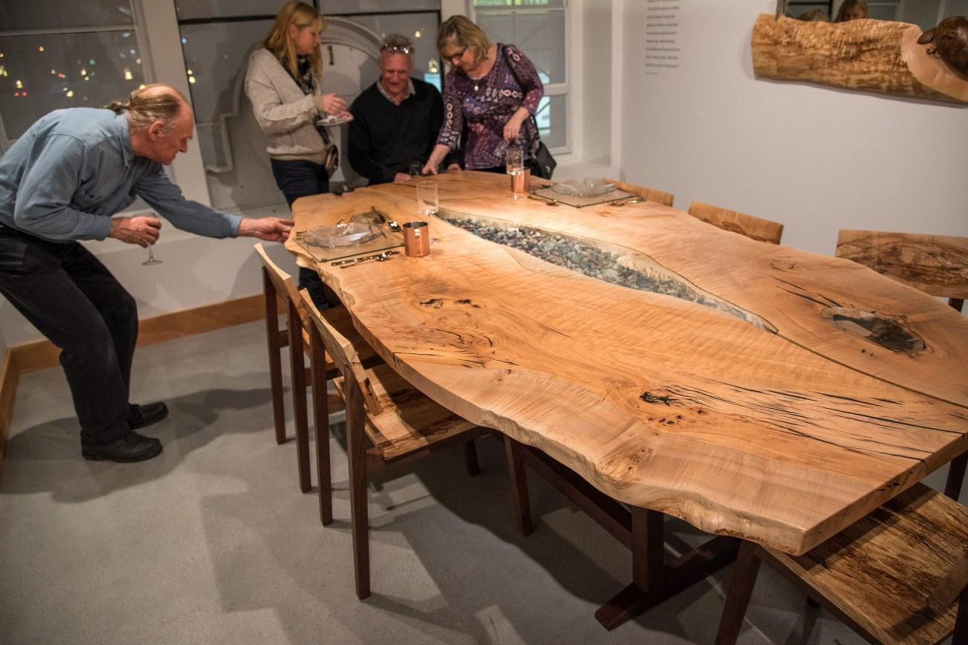 Onetree Dining Table By John Lore Live Edge Design Inc