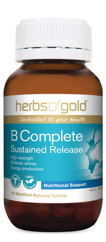 HERBS OF GOLD B COMPLETE SUSTAINED RELEASE