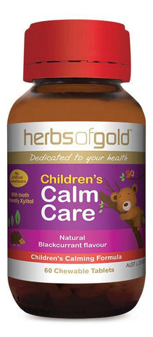 HERBS OF GOLD CHILDREN'S CALM CARE (CHEWABLE)