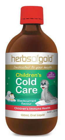 HERBS OF GOLD CHILDREN'S COLD CARE
