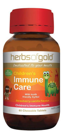 HERBS OF GOLD CHILDREN'S IMMUNE CARE (CHEWABLE)