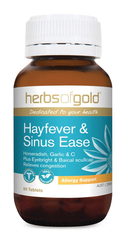HERBS OF GOLD HAYFEVER & SINUS EASE