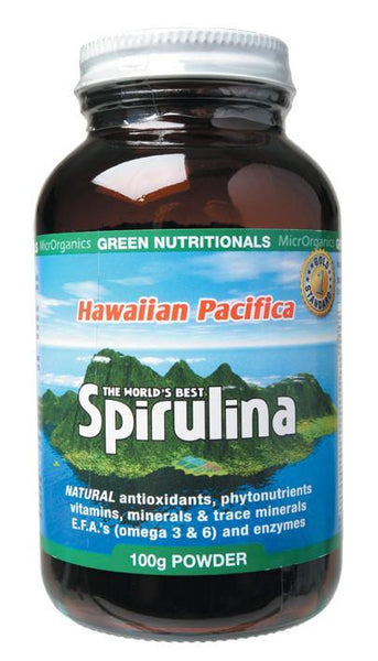 MICRORGANICS HAWAIIAN PACIFICA SPIRULINA POWDER