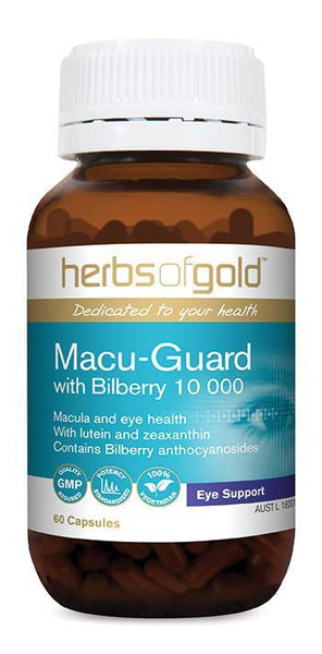 HERBS OF GOLD MACU-GUARD WITH BILBERRY 10 000