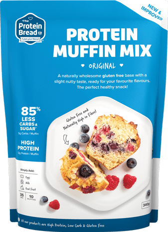 THE PROTEIN BREAD CO PROTEIN MUFFIN MIX
