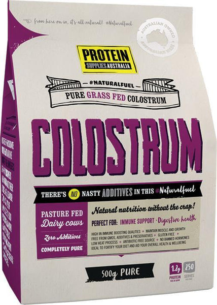 PROTEIN SUPPLIES AUSTRALIA COLOSTRUM PURE - 20% IMMUNOGLOBULIN
