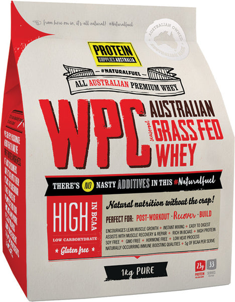 PROTEIN SUPPLIES AUSTRALIA WPC (WHEY PROTEIN CONCENTRATE) - PURE