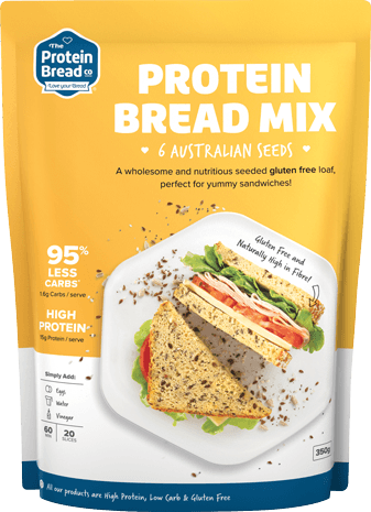 THE PROTEIN BREAD CO PROTEIN BREAD MIX (6 SEEDS)