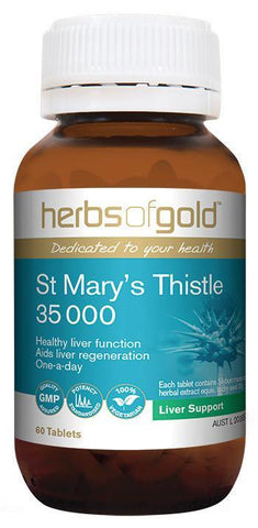 HERBS OF GOLD ST MARY'S THISTLE 35 000