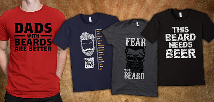 9 Beard T Shirts for Hairy Husbands & Furry Fathers