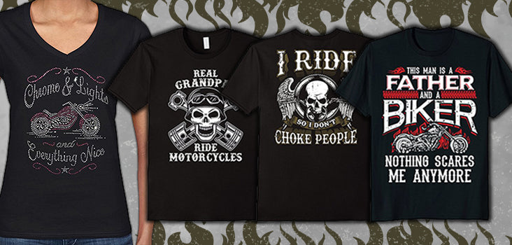 10 Cool Biker T-Shirts Primed for the Open Road