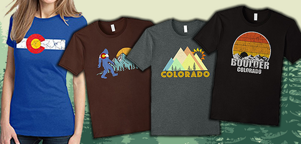 10 Cool Colorado T-Shirts for Every Proud Coloradan