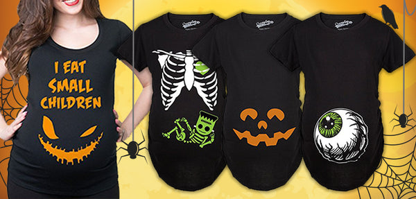 10 Hallowed Maternity Halloween Shirts for Moms-to-Be