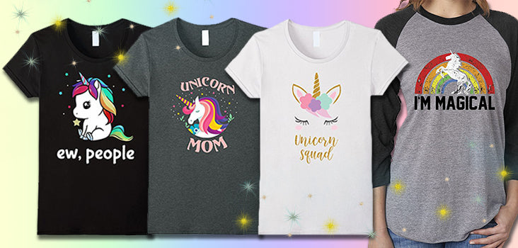 10 Magical Unicorn Shirts That Will Make You a Walking Rainbow