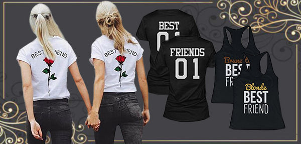 9 Best Friend Shirts for Inseparable BFFs that are Literally Everything