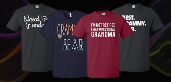 9 Grandma Shirts to Gift to the Coolest Grandmas Ever