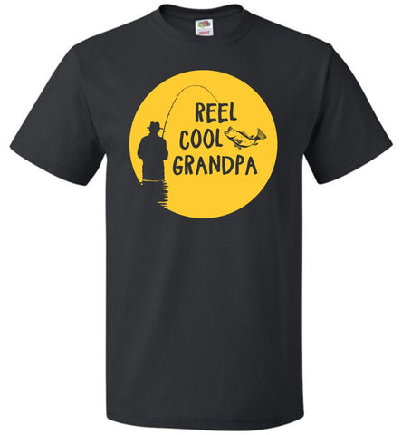 Reel Cool Grandpa Shirt