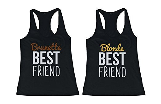 Brunette and Blonde Best Friends Shirts