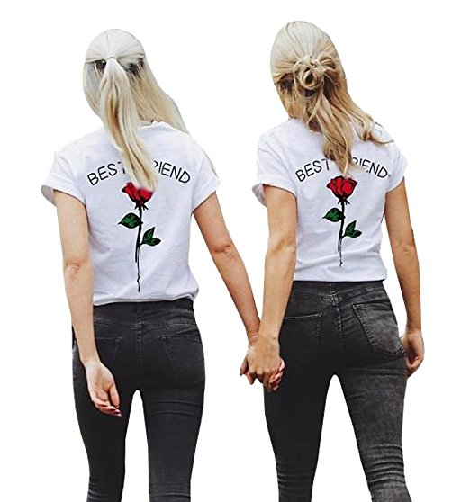 Roses Best Friends Shirts