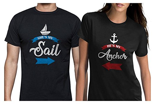 She's My Sail, He's My Anchor Shirts