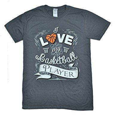 I Love My Basketball Player Shirt