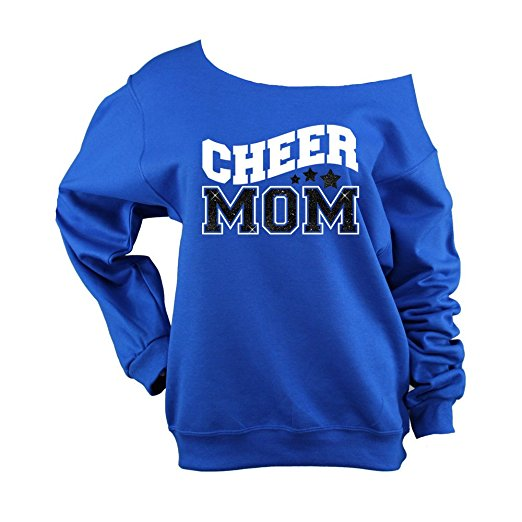 Cheer Mom Off The Shoulder Shirt