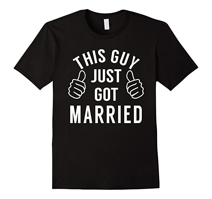 This Guy Just Got Married Shirt