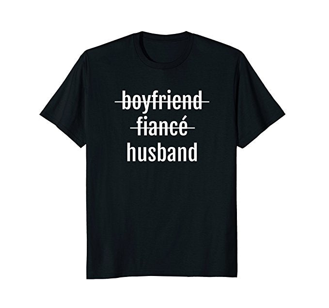 Boyfriend Fiance Husband Shirt