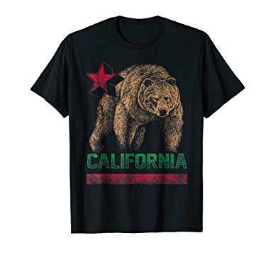 California Bear Republic Shirt