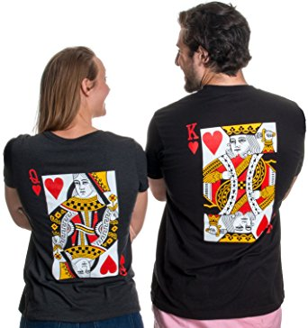 6cc2b94a31 9 Matching Husband and Wife Shirts for Adorable Couples – oTZI Shirts