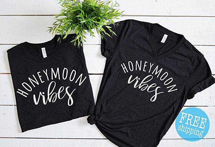 Honeymoon Vibes Shirts