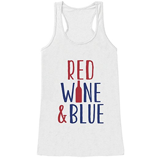 Red Wine & Blue Shirt