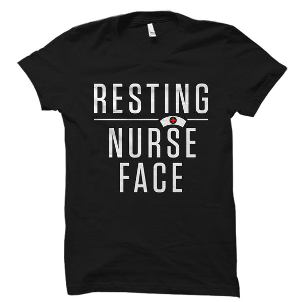 Resting Nurse Face Shirt