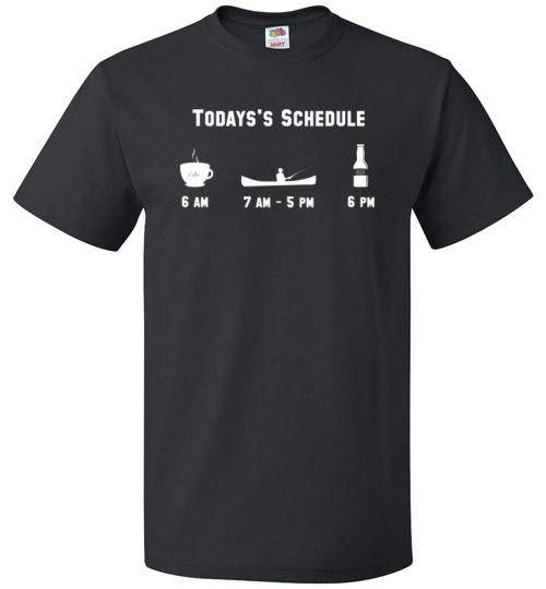 Fishing Schedule Shirt