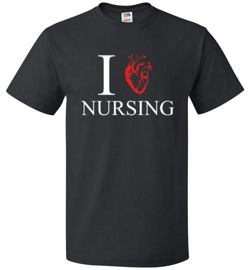 I Heart Nursing Shirt