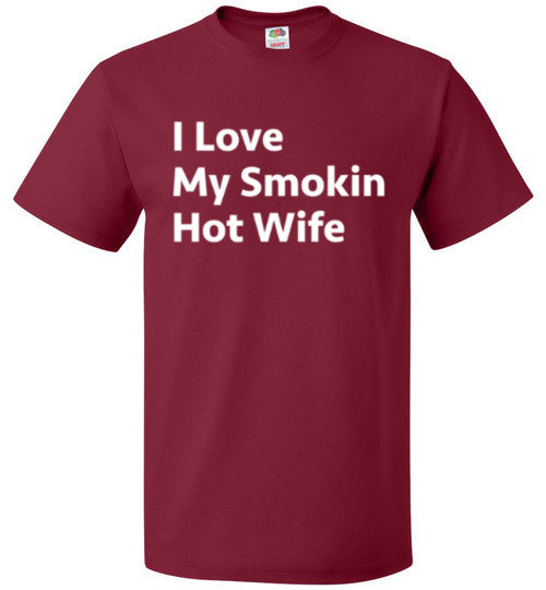 I Love My Smokin Hot Wife T-Shirt - oTZI Shirts - 2