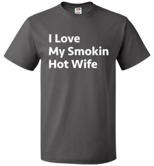 I Love My Smokin Hot Wife T-Shirt - oTZI Shirts - 3