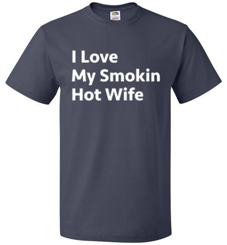 I Love My Smokin Hot Wife T-Shirt - oTZI Shirts - 4