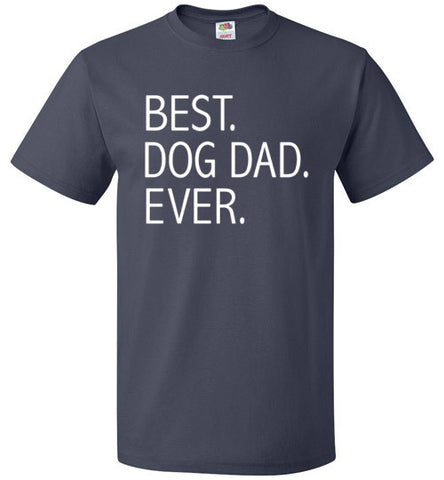 Best Dog Dad Ever Shirt - oTZI Shirts - 1