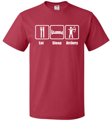 Eat Sleep Archery Shirt Funny Archer Bow Arrow Tee - oTZI Shirts - 9