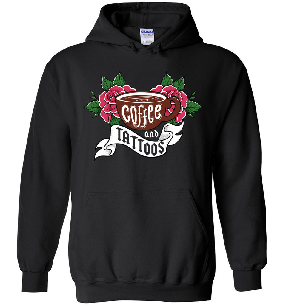 Coffee And Tattoos Hoodie